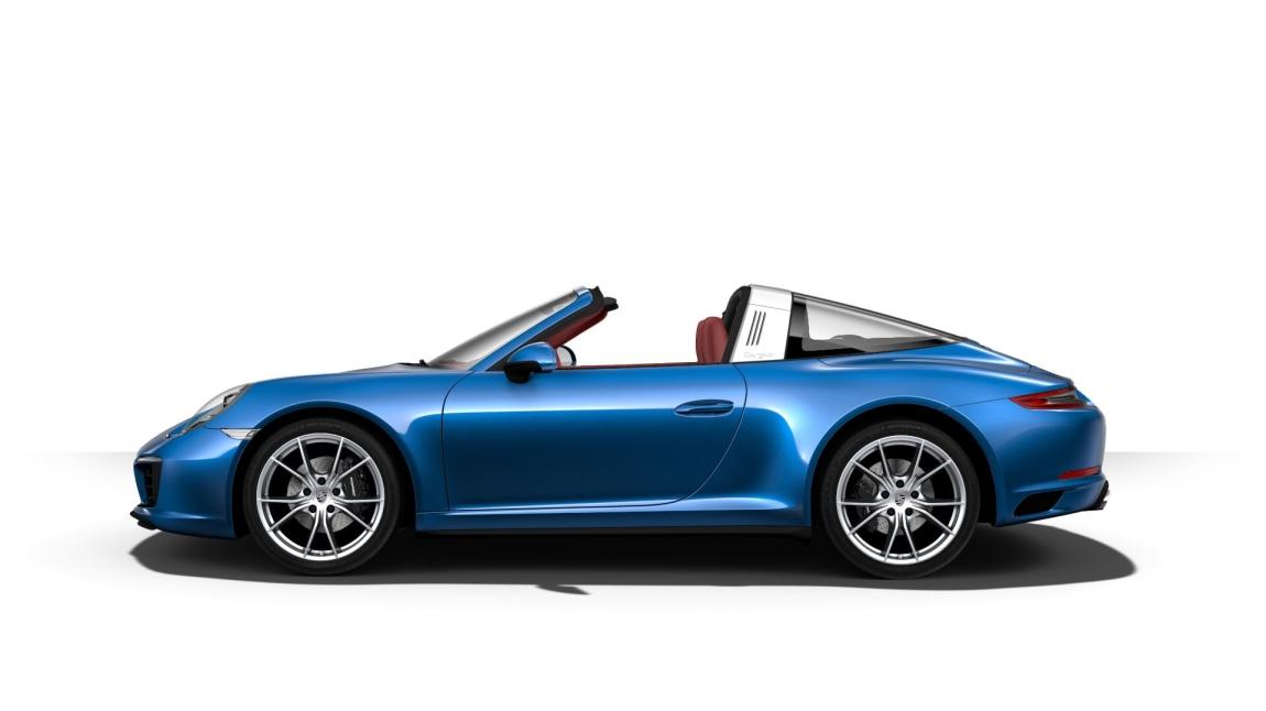 保时捷 911 Targa 4 蓝宝石/波尔多红 现车销售:车辆于2017年04月份生产,仪表里程20公里。配置总价170.73万元,现车优惠7个点,优惠后售价158.77万元,低开发票可避消费税。通过恩佐网购买的车型都是正规品牌授权经销商付款提车,享受品牌官方质保售后服务,同时享受(包退、包换、保修)三包政策。 车辆选装:蓝宝石金属漆(15800元)、波尔多红真皮内饰(34800元)、前部和后部停车辅助系统,包括倒车摄像头(8800元)、包括门控灯的电动可折叠车外后视镜(4000元)、助力转向升级版(3