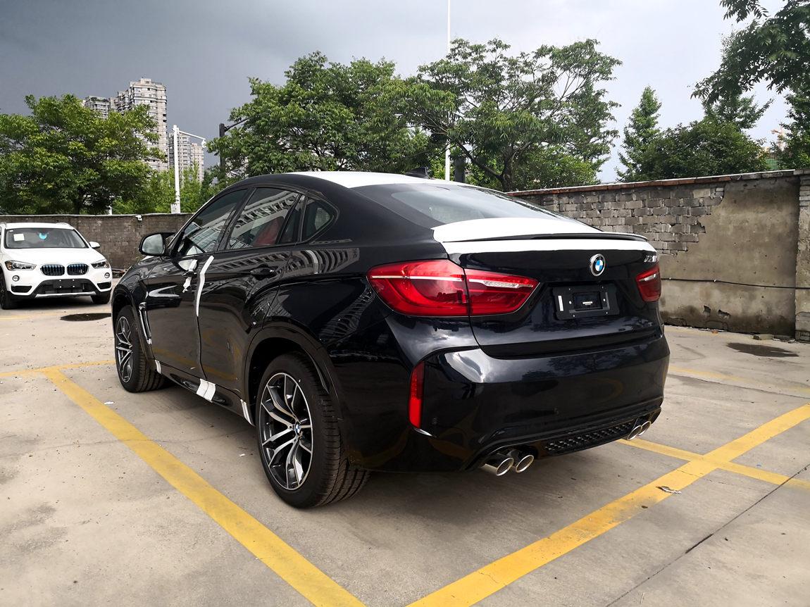 2018款宝马x6m现车 享誉世界v8优惠促销