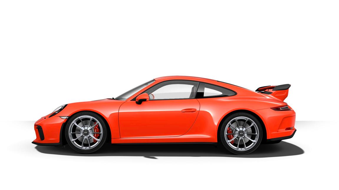 保时捷 911 gt3 熔岩橙 九月份到店 含消费税加21万元
