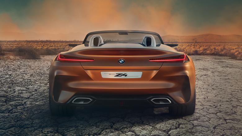 宝马z4概念车亮相 量产版明年发布